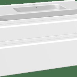 Køb Dansani DSC møbelsæt med skuffer Menuet vask og LED 121 x 45