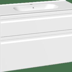 Køb Dansani DSC møbelsæt med skuffer Kantate vask og LED 101 x 45