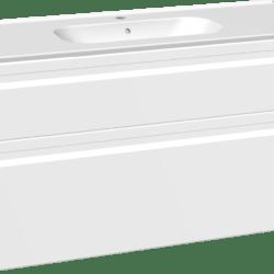 Køb Dansani DSC møbelsæt med skuffer Kantate vask og LED 121 x 45