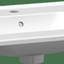 Køb Dansani Kantate porcelænsvask 61 cm hvid | 780990130
