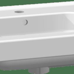 Køb Dansani Menuet vask 61 cm porcelæn hvid | 780990530