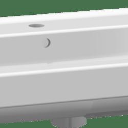 Køb Dansani Menuet vask 101 cm porcelæn hvid | 780990550