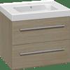 Køb Dansani Luna møbelsæt med skuffer og Menuet vask 48 x 61 x 45 cm eg | 780998038