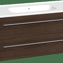 Køb Dansani Luna møbelsæt med skuffer Kantate vask og LED 48 x 121 x 45