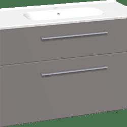 Køb Dansani Luna møbelsæt med skuffer og Kantate vask 64 x 101 x 45