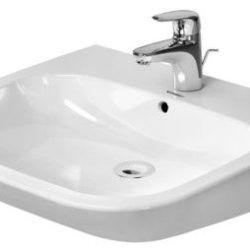 Køb Duravit D-Code Vital håndvask 60 cm med overløb | 626655000