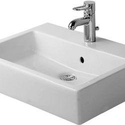 Køb Duravit Vero håndvask 50 x 47 cm vægmontering med WonderGliss | 635451010