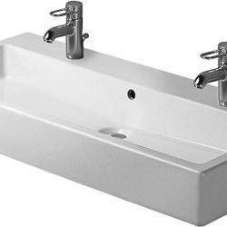 Køb Duravit Vero håndvask 100 x 47 cm vægmontering med WonderGliss | 635454210