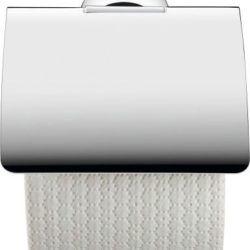 Køb Duravit Starck T papirholder med låg krom | 776393104