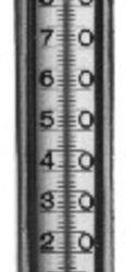 Køb Termometer ligeløbende rød væske 1/2 alm   480100904