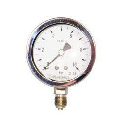 Køb Manometer 1/2x100 0-6 bar