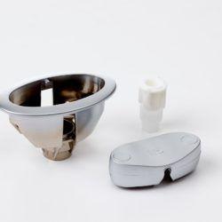 Køb Ifo Cera skylleknapsæt matforkromet | 609540601