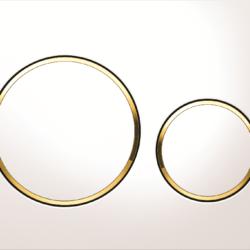 Køb Betjeningsplade Geberit Sigma 20 hvid guld hvid | 617080159