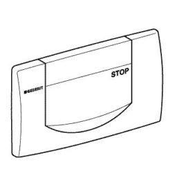 Køb Frontplade geberit blank forkromet | 617083024