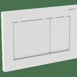 Køb Geberit betjeningsplade Omega30 sort/krom/sort   617092311