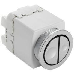 Køb Geberit pneumatisk tryk dobbelt WC20 krom | 617094184