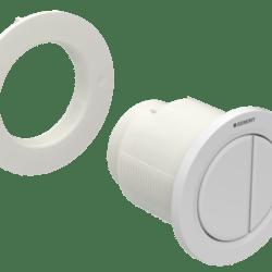 Køb Geberit betjeningsplade Omega01 hvid til gips | 617097070