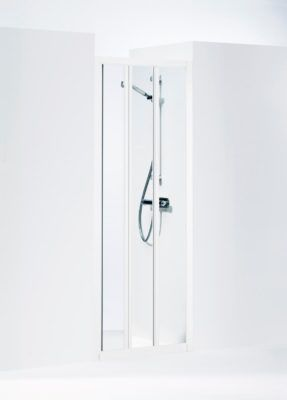 Køb Ifo Solid skydedør svs vk9 90 cm hvid/klar   673865030