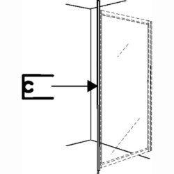 Køb Ifo Solid gulv- og loftstøtte svgt hvid | 673869430