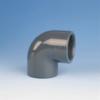 Køb Vinkel pvc 90° muffe/muffe 160 mm PN16 | 61090160
