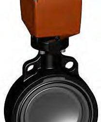 Køb Butterflyventil type 140 PVC-U/FPM d140 Akuator 100-230V | 980420336