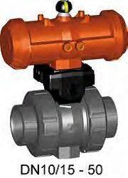 Køb Kuglehane type 230 FC PVC-U/FPM d63 | 980420513