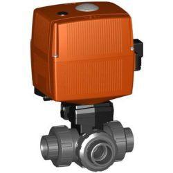 Køb Kuglehane type 167 230V PVC-U/FKM d40/DN32 | 980420572