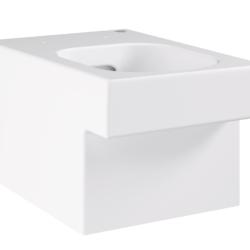 Køb GROHE Cube Ceramic toilet væghængt med PureGuard | 613348060