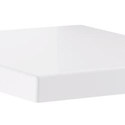 Køb GROHE Cube Ceramic toiletsæde med soft close | 614783100
