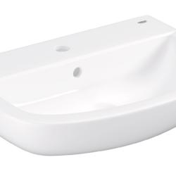 Køb GROHE Bau Ceramic håndvask væghængt 55 cm | 623219000