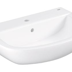 Køb GROHE Bau Ceramic håndvask væghængt 60 cm | 623220000