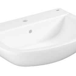 Køb GROHE Bau Ceramic håndvask væghængt 65 cm | 623221000