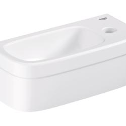 Køb GROHE Euro Ceramic mini håndvask til bordplade med PureGuard 37 cm | 623222260