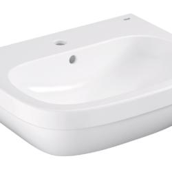 Køb GROHE Euro Ceramic håndvask væghængt med PureGuard 60 cm | 623225060