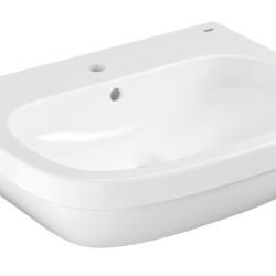 Køb GROHE Euro Ceramic håndvask væghængt med PureGuard 65 cm | 623226060