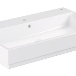 Køb GROHE Cube Ceramic håndvask væghængt med PureGuard 80 cm | 623233060