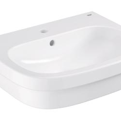 Køb GROHE Euro Ceramic håndvask til bordplade med PureGuard 60 cm | 634121060