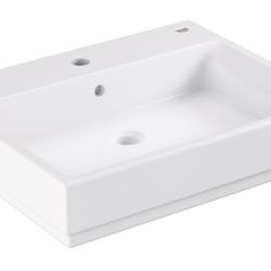 Køb GROHE Cube Ceramic håndvask til bordplade med PureGuard 60 cm | 634131060