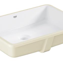 Køb GROHE Cube Ceramic håndvask underbygget med PureGuard 50 cm | 636023660