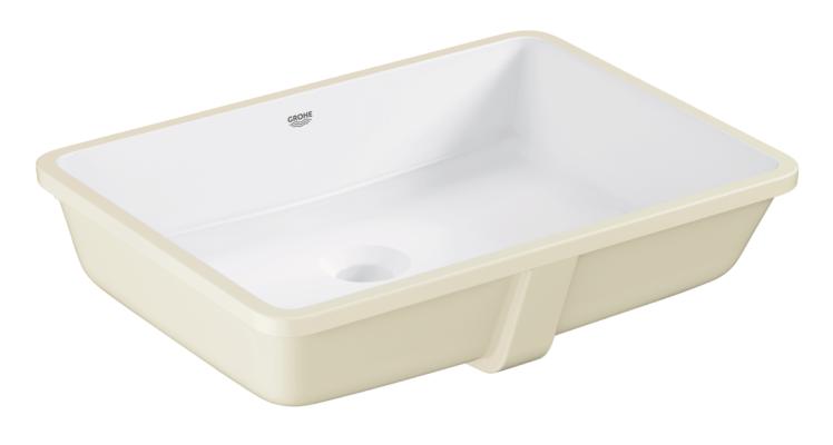 Køb GROHE Cube Ceramic håndvask underbygget med PureGuard 50 cm   636023660