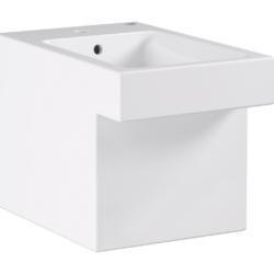 Køb GROHE Cube Ceramic bidet stående med PureGuard | 676325060