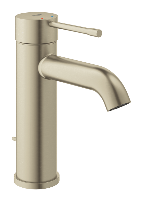 Køb GROHE Essence New håndvaskarmatur S Brushed Nickel | 701986111
