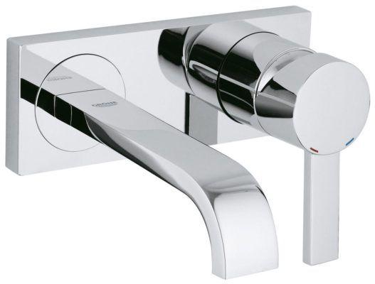 Køb GROHE Allure håndvaskarmatur til væg 2-huls   702495104