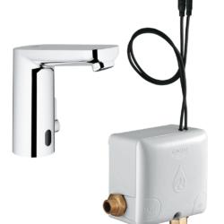 Køb GROHE Eurosmart Cosmopolitan E berøringsfrit håndvaskarmatur med Powerbox | 704161254