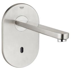 Køb GROHE Eurosmart Cosmopolitan E berøringsfrit håndvaskarmatur uden blander vægmonteret | 704166337