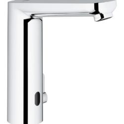 Køb GROHE Eurosmart Cosmopolitan E berøringsfrit håndvaskarmatur 6V L-Size | 704167104