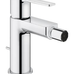 Køb GROHE Lineare New bidetarmatur med bundventil S-Size krom | 705322104