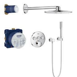Køb GROHE SmartControl blander bundle rund 3SC | 727532804