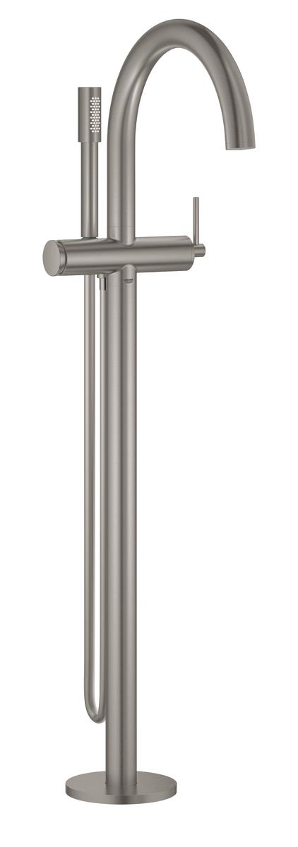 Køb GROHE Atrio badekararmatur fritstående SuperSteel   727738416