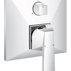 Køb GROHE Allure Brilliant forplade til Smartbox 3-Vejs | 727765304